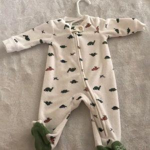 Newborn Carter's onesie
